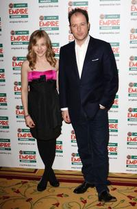 Chloe Moretz and Matthew Vaughn at the Jameson Empire Film Awards.