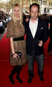 Claudia Schiffer and Matthew Vaughn at the UK premiere of