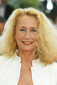 Brigitte Fosset at the 55th Cannes film festival.