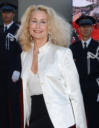 Brigitte Fossey at the palais des festivals at the screening of