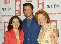 Isabel Keating, Hugh Jackman and Beth Fowler at the 2004 Tony Awards Nominees Press Reception.