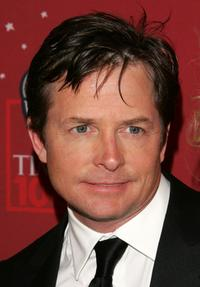 Michael J. Fox at the Time Magazine's celebration of the 100 most influential people.