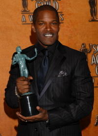 Jamie Foxx at the 11th Annual Screen Actors Guild Awards.