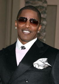 Jamie Foxx at the 2006 American Music Awards.
