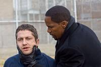Gerard Butler and Jamie Foxx in