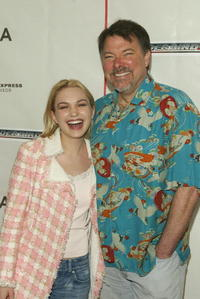 Sophia Myles and Jonathan Frakes at the screening of