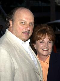 Dennis Franz and wife Joni at a party to celebrate the 200th episode of the television drama series