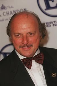 Dennis Franz at E Entertainment's post Emmy party.
