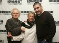 Alvin Epstein, Elizabeth Franz and Alfred Molina at the rehearsals for Roundabout Theatre Company's new play