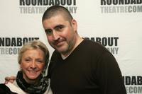 Elizabeth Franz and Alfred Molina at the rehearsals for Roundabout Theatre Company's new play