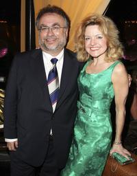Producer Richard Frankel and Alison Fraser at the opening night of