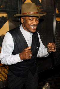 Joe Frazier at the