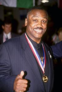 Joe Frazier at the Summer Olympics in Atlanta.