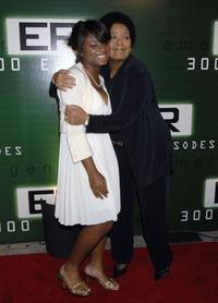 Ariel and Yvette Freeman at the celebration for the 300th episode of