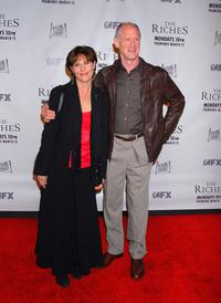 Bruce French and Guest at the premiere of