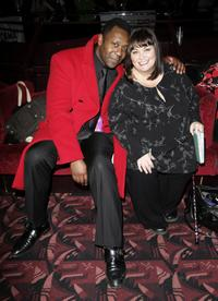 Lenny Henry and wife Dawn French at the after party of the
