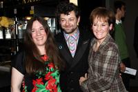 Sophie Dury, Andy Serkis and Lorraine Ashbourne at the VIP screening of