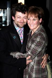 Andy Serkis and Lorraine Ashbourne at the VIP screening of