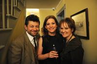 Andy Serkis, Kerry Fox and Lorraine Ashbourne at the Times BFI 53rd London Film Festival.