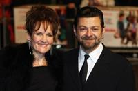 Lorraine Ashbourne and Andy Serkis at the world premiere of