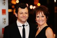 Andy Serkis and Lorraine Ashbourne at the Orange British Academy Film Awards 2010.