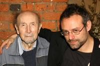 Sol Frieder and Benjamin Ross at the screening of