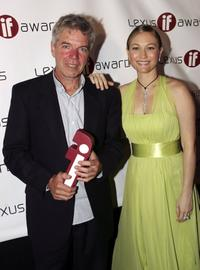 Colin Friels and Sarah Wynter at the 6th Annual Lexus IF Awards.