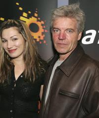 Loene Carmen and Colin Friels at the screening of