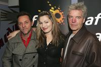 Colin Friels, David Field and Loene Carmen at the screening of