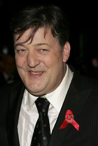 Stephen Fry at the Official BAFTA after show party following The Orange British Academy Film Awards.