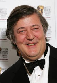 Stephen Fry at the British Academy Television Awards.