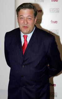 Stephen Fry at the Five Women in Film And TV Awards.