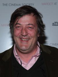 Stephen Fry at the screening of