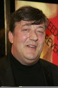 Stephen Fry at the premiere of