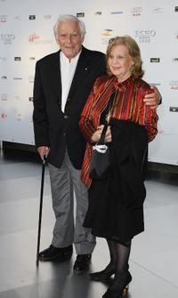 Joachim Fuchsberger and Gundula Fuchsberger at the Echo Klassik Awards.