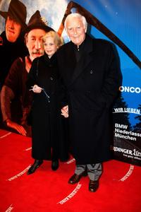 Gundula Fuchsberger and Joachim Fuchsberger at the German premiere of