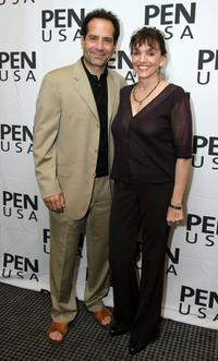 Brooke Adams and Tony Shalhoub at the PEN USA'S Forbidden Fruit: Readings From Banned Works of Literature.