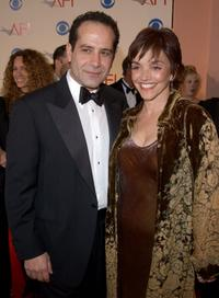 Brooke Adams and Tony Shalhoub at the American Film Institutes AFI Awards.