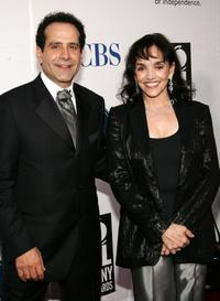Brooke Adams and Tony Shalhoub at the 59th Annual Tony Awards.