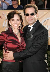 Brooke Adams and Tony Shalhoub at the 11th Annual Screen Actors Guild Awards.