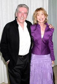 Robert Fuller and Jennifer Savidge at the Paramount Network Television and CBS, 200 Episodes of JAG Celebration Party.