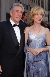 Robert Fuller and Guest at the NBC 75th Anniversary celebration.