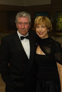 Robert Fuller and his wife at the benefit dinner to salute Chuck Norris for his