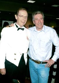 Bernie Koppell and Robert Fuller at the