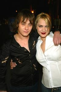Edward Furlong and Liz Levy at the premiere of