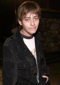 Edward Furlong at the group Limp Bizkit's party.