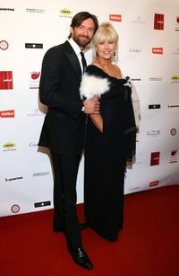 Hugh Jackman and Deborrah-Lee Furness at the 2007 Red Ball to fundraising event.