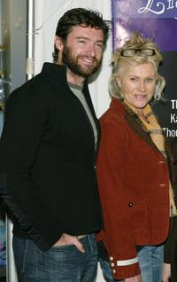 Hugh Jackman and Deborrah-Lee Furness at the