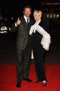 Hugh Jackman and Deborrah-Lee Furness at the UK premiere of