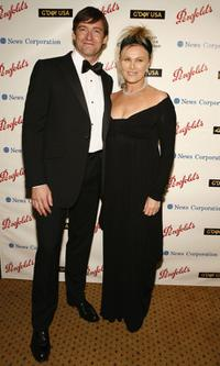 Hugh Jackman and Deborrah-Lee Furness at the 2006 Australia Day Ball.